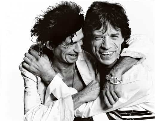 mick jagger e Keith Richard
