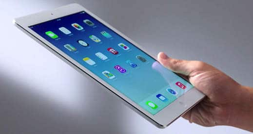 ipad air - I migliori tablet del 2013