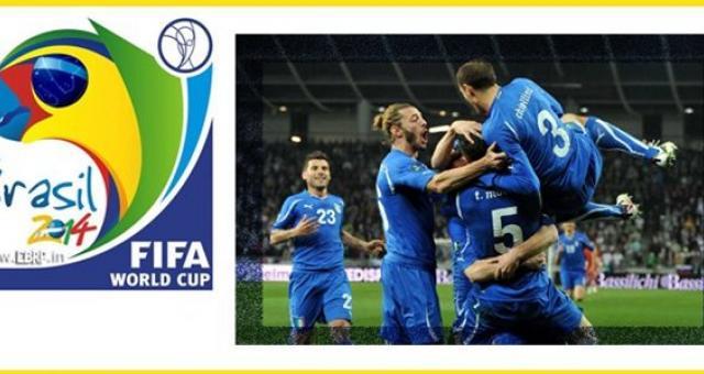 sorteggi mondiale 2014 - Mondiali Brasile 2014: Italia nel Girone D con Inghilterra e Uruguay