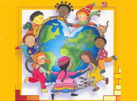1.Bambini girotondo - Il razzismo spiegato ai bambini