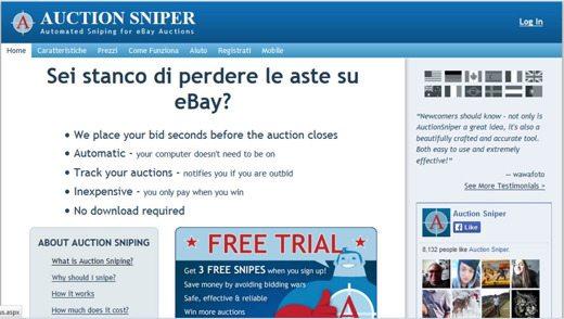 auctionsniper - Come non perdere più alle aste su eBay