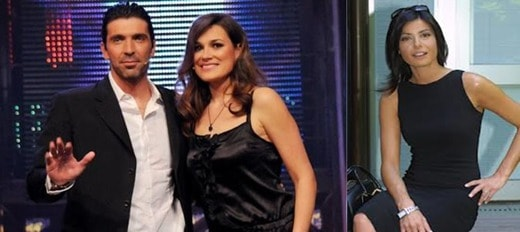 buffon seredova.damico - Gigi Buffon ha perso la testa per Ilaria D'Amico: bufala o verità?