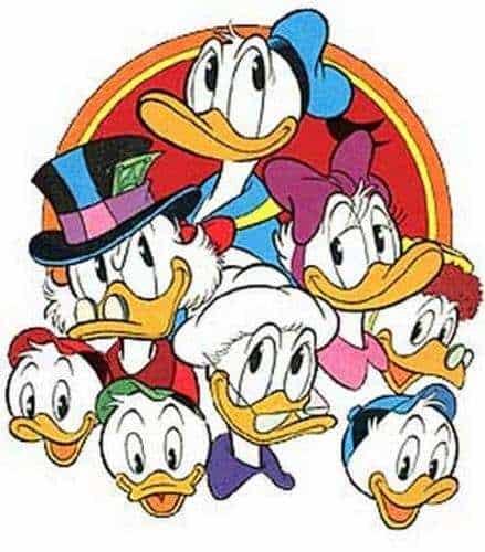 famiglia paperino - Le stranezze della Walt Disney
