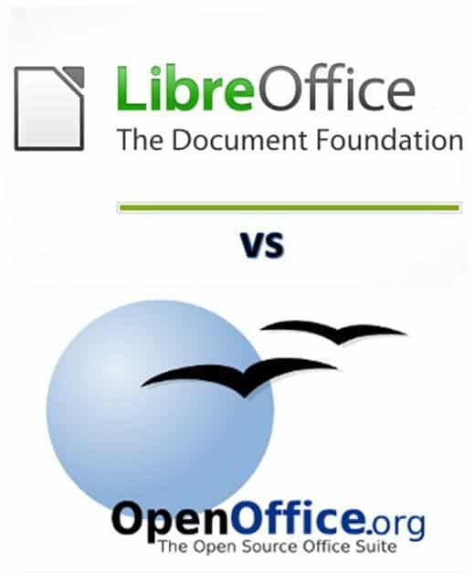 OpenOffice LibreOffice MSOffice - Qual è la differenza tra OpenOffice e LibreOffice