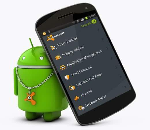 avast android - Avast! Free Mobile Security l'antivirus che mette al sicuro gli smartphone Android