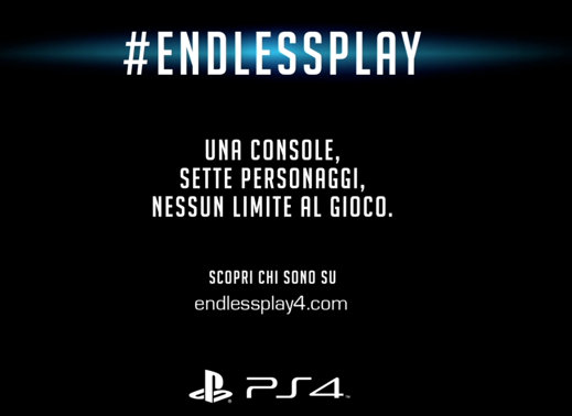 endlessplay - PS4 e #EndlessPlay: l'esperienza del gioco in tempo reale