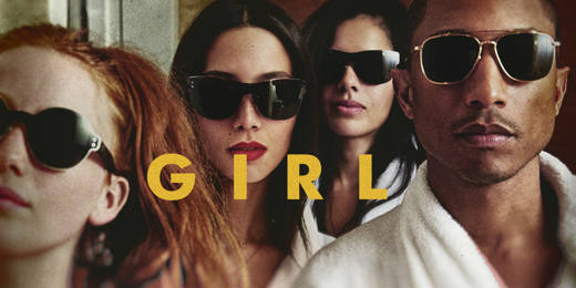3 PHARRELL GIRL - Pharrell Williams, il nuovo Re Mida del Pop