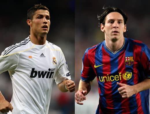 ronaldo messi - Goal Rich List 2013: il paperone è Cristiano Ronaldo