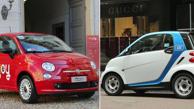 car2go enjoy 2 - Car Sharing: differenze tra Enjoy e Car2go