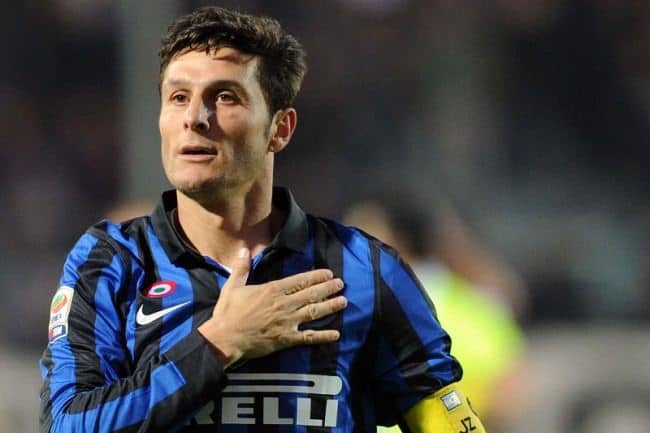 Javier Zanetti Inter manosulcuore - L'addio al calcio di capitan Zanetti e la commozione di S.Siro