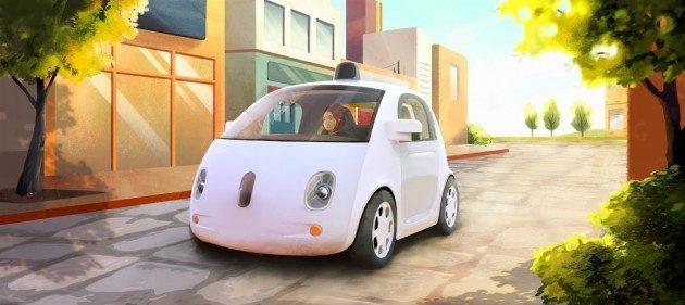 google car - Google Car, l'auto che si guida da sola
