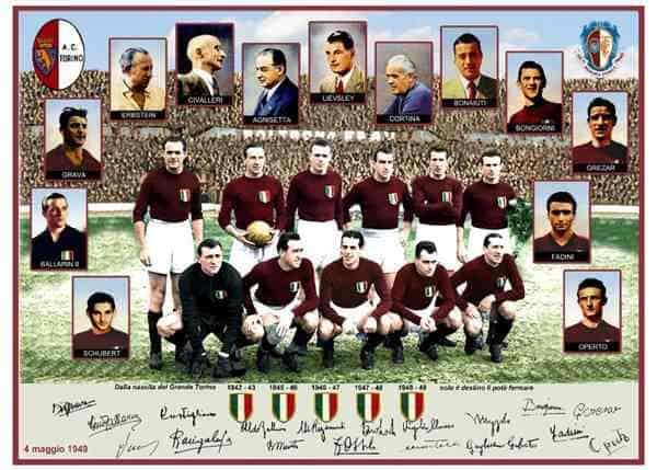 grandeTorino - Il Grande Torino: la squadra che solo il cielo dominò