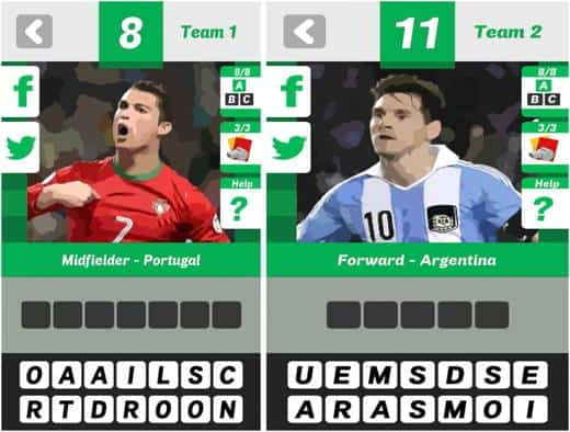 FOOTBALL QUIZ BRAZIL 2014 - Le soluzioni dei livelli di Football Quiz Brazil 2014