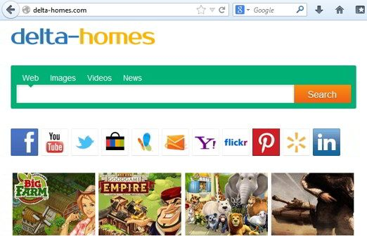 delta homes - Come rimuovere il malware Delta Homes da Chrome, Firefox e Internet Explorer