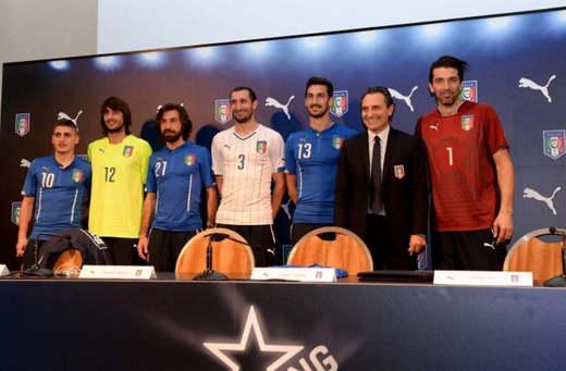 maglia italia mondiale 2014 - Mondiali Brasile 2014: assegnati i numeri di maglia agli Azzurri