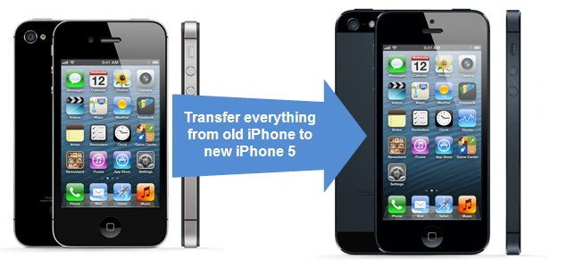 transfer data to iphone5 - Come trasferire i contatti telefonici da un vecchio iPhone ad un nuovo iPhone