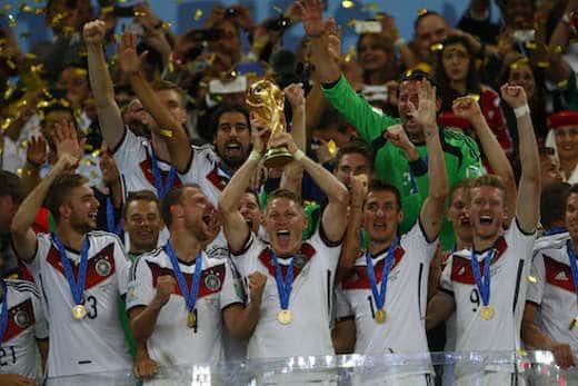 Germania Campione del Mondo 2014 - Germania, Campione del Mondo senza ombre
