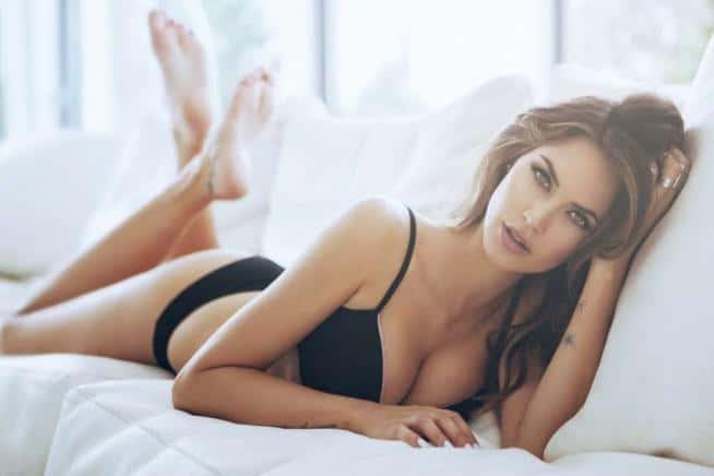 Melissa Satta lingerie2 - Melissa Satta in lingerie per Rossoporpora Underwear