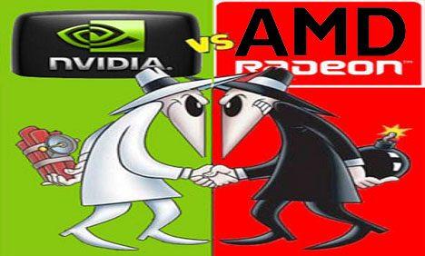 nvidia sfida amd - Nell'era dei videogiochi AMD e NVIDIA si sfidano con potenti schede grafiche