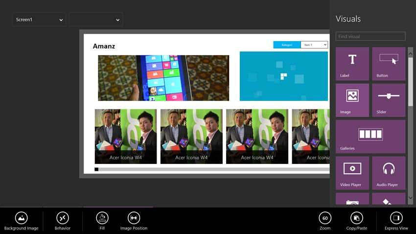 project siena - Come creare un'app per Windows 8.1 con Project Siena