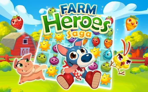 Farm heroes saga nuovi livelli - Farm Heroes Saga Facebook soluzioni dal livello 461 al livello 625