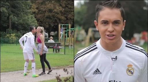 JoeWeller Ronaldo - Il video del finto Cristiano Ronaldo spopola sul Web