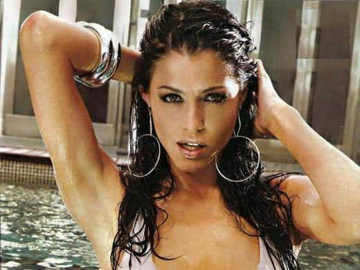 Pamela David Wallpaper - Pamela David: la sexy conduttrice sportiva della TV argentina