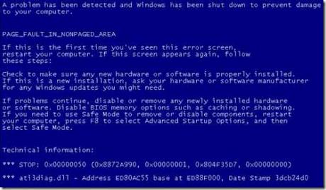 Come risolvere in Windows il problema delle schermate blu