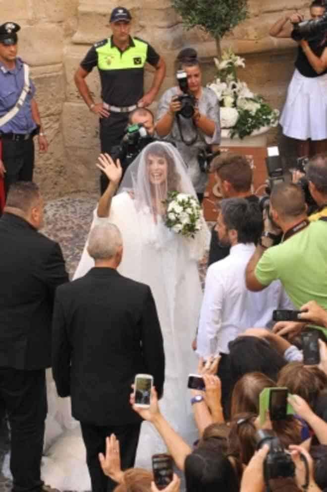 canalis matrimonio - Elisabetta Canalis e Brian Perri si sono sposati - le prime foto