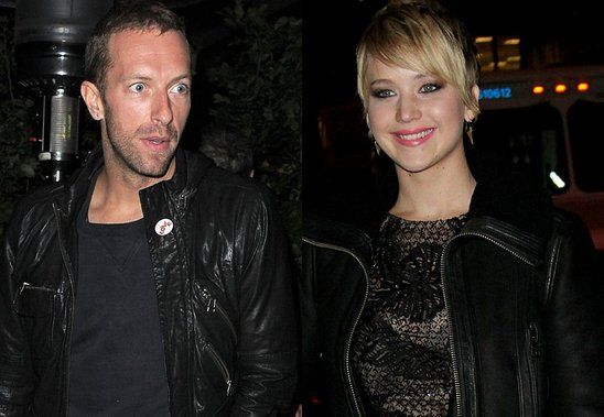 jennifer lawrence Chris Martin - Jennifer Lawrence e Chris Martin sarà vero amore?