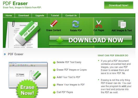 PDF Eraser - Modificare i PDF come se fossero immagini