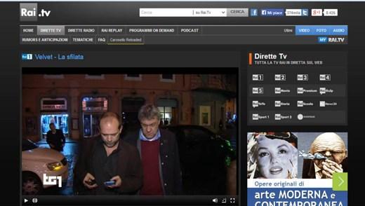 Rai Streaming - Come scaricare e registrare i video trasmessi sul sito della RAI
