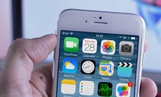 screenshot iphone6 - Come effettuare e salvare le schermate (screenshot) con iPhone 6 e iPhone 6 Plus