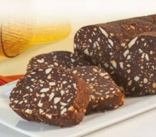 Ricetta salame cioccolato - La ricetta del salame di cioccolato