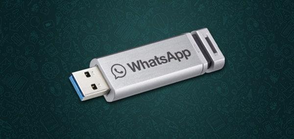 whatsapp su chiavetta USB - Come creare una versione portatile di WhasApp su chiavetta USB