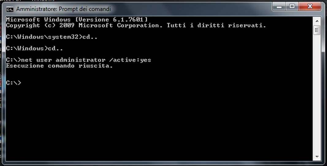 administrator windows - Come diventare amministratore di Windows 7 e di Windows 8