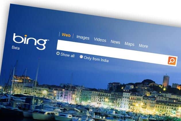 bing - Come fare una richiesta di cancellazione al motore di ricerca Bing