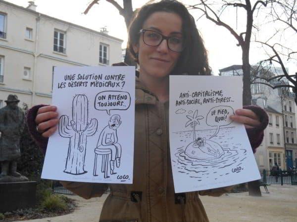 Corinne Rey - Charlie Hebdo: storie di sangue dalla vignettista risparmiata all'agente musulmano giustiziato