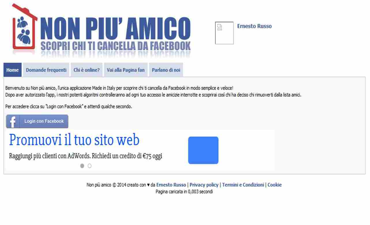Come scoprire chi ti ha cancellato da Facebook