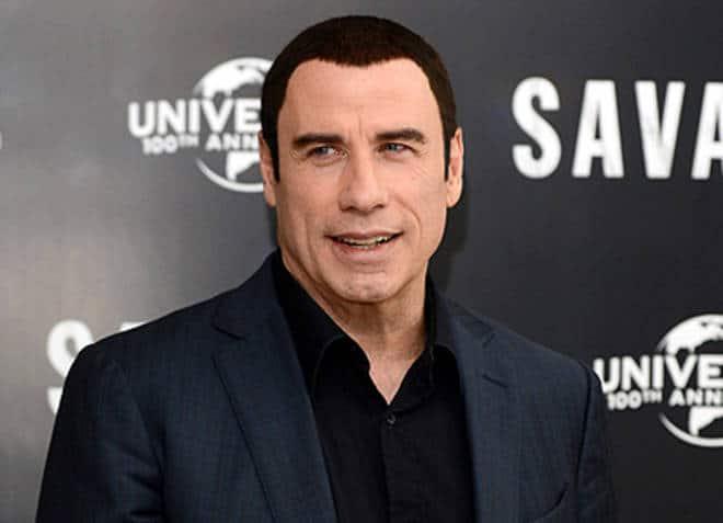 john travolta premiere - Fa un selfie con John Travolta senza parrucchino