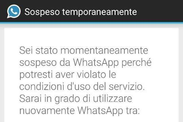 whatsapp sospeso temporaneamente - WhatsApp sospende gli account che usano WhatsApp Plus e WhatsApp in Material Design