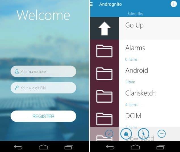 Andrognito - Come proteggere la sicurezza dei tuoi file personali su Android
