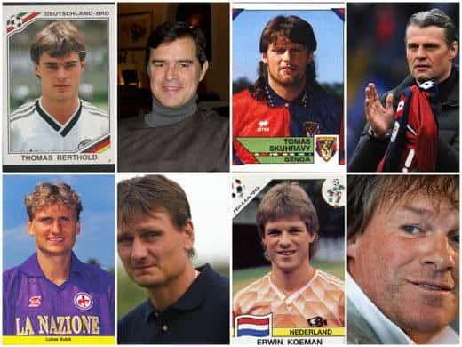 calciatori invecchiati bene - Calciatori ieri e oggi: gli invecchiati bene, gli ingrassati, gli irriconoscibili, i rimasti uguali