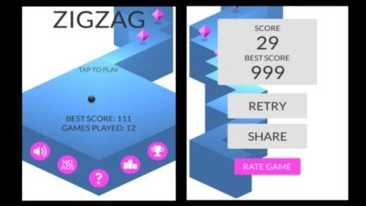 zigzag ketchapp - Trucchi e suggerimenti per ZigZag il game arcade della Ketchapp