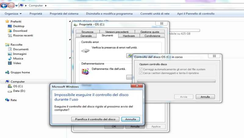Come fare lo Scandisk - Come fare lo ScanDisk o Chkdsk e dove trovare il file di log su Windows