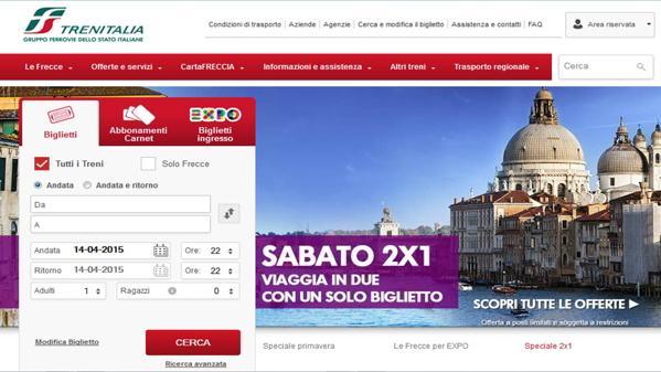 Trenitalia - Come acquistare sul Web i biglietti Trenitalia