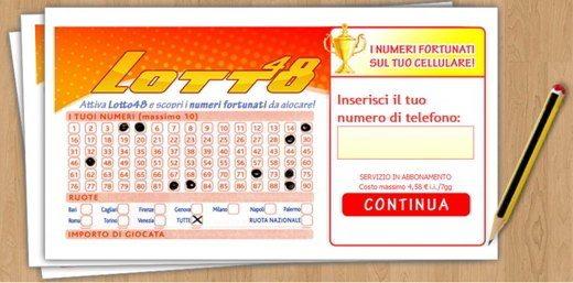 lotto48 - Come disattivare Lotto48
