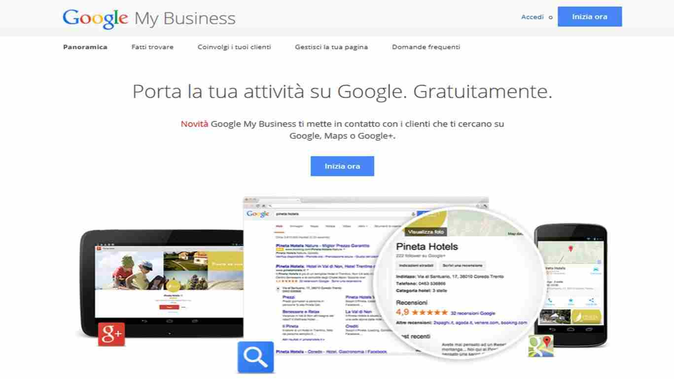 Google My Business - Come comparire su Google Maps con Google My Business