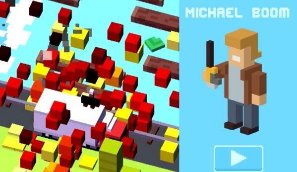 crossy road michael boom - Come sbloccare Michael Boom, Jughead e il Giocatore di Rubgy in Crossy Road