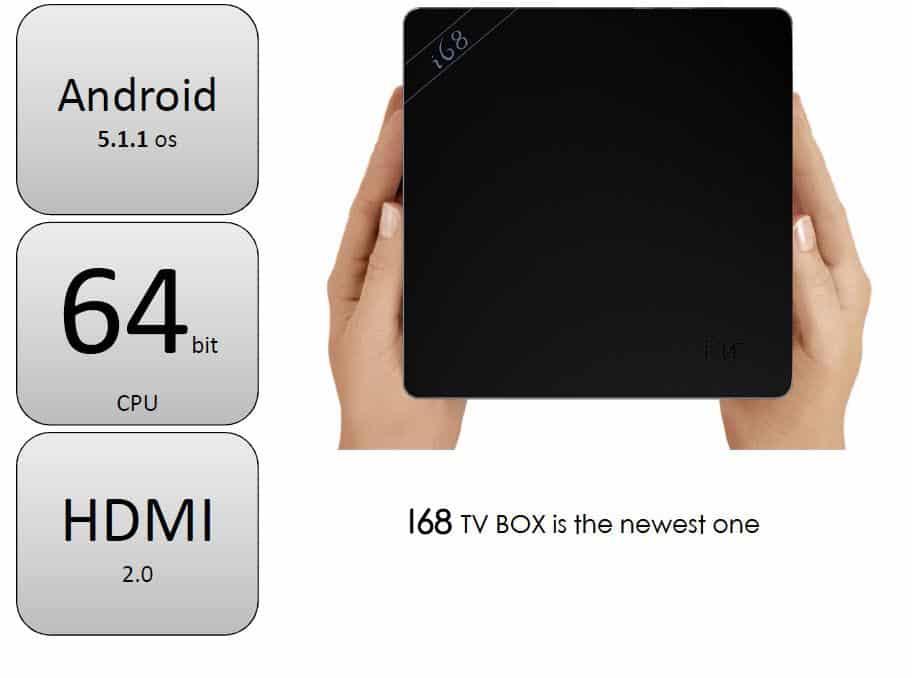 BEELINK I68 16GB RK3368 1 - Beelink i68: TV Box Octa Core 64-bit RK3368 UHD 4K con HDMI 2.0